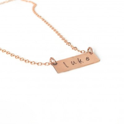 Baby name necklace - lowercase