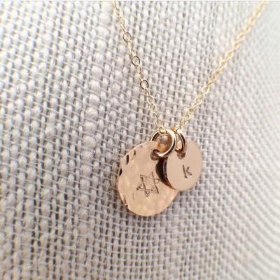 Big/Little Gold Filled Necklace