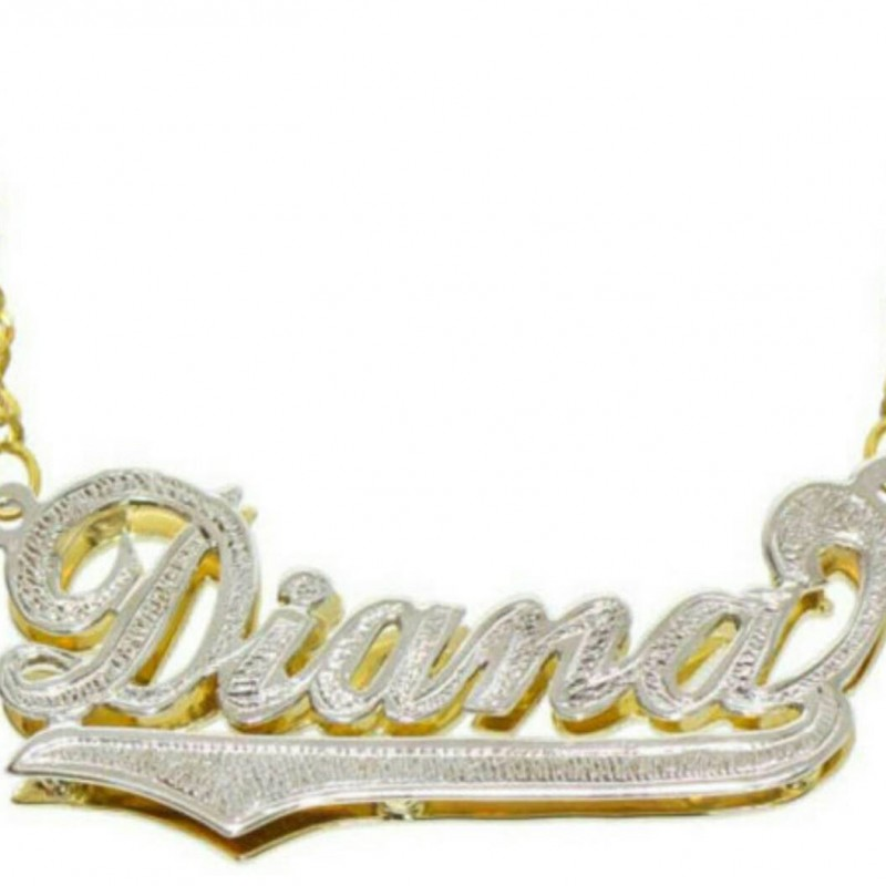 Personalized Style Name Necklace 14k