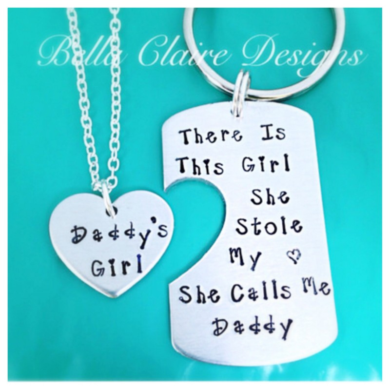 Daddys Girl set, Set of 2 There's This Girl She Stole My