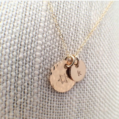 Gold Filled Maid of Honor necklace