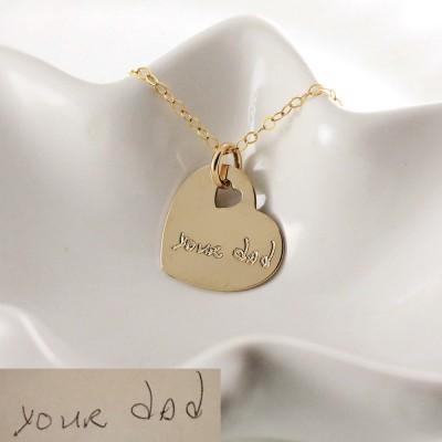 Handwriting Jewelry Handwritten