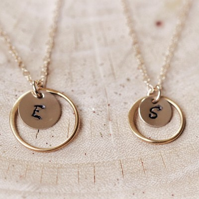 Mother and Daughter Necklace - grandmother mother daughter necklace - personalized mother daughter necklace - mother daughter gift -Mom gift