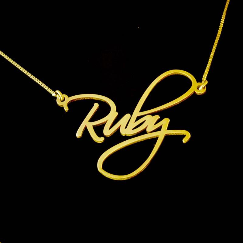 Ruby Cross .925 Sterling Argent Pendentif