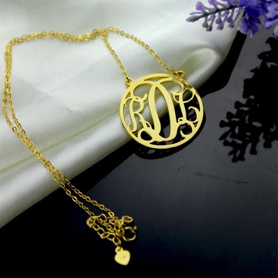 etsy monogram necklace gold monogram necklace 3 initial round monogram necklace Personalized Necklace Circle Monogram christmas gift for him