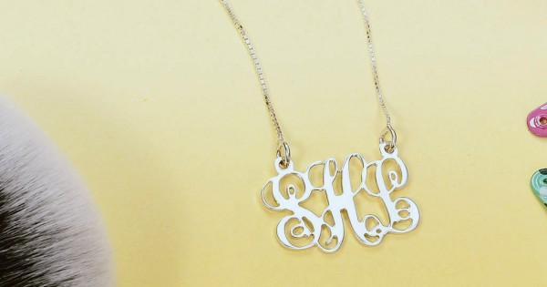 a4751960eea46 Monogram Jewelry