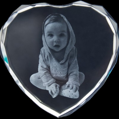 Photo Engraved Crystals In Custom Made Shapes - Name My Jewelry ™