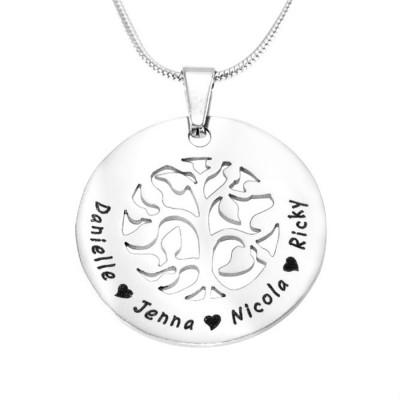 personalized BFS Family Tree Necklace - Name My Jewelry ™