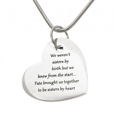 personalized Bottom of My Heart - Name My Jewelry ™