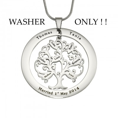 personalized ADDITIONAL Tree of My Life WASHER ONLY - Name My Jewelry ™