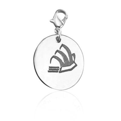 personalized Sydney Opera House Charm - Name My Jewelry ™