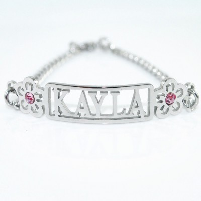 Name Necklace/Bracelet/Anklet - DIY Name Jewelry With Any Elements - Name My Jewelry ™