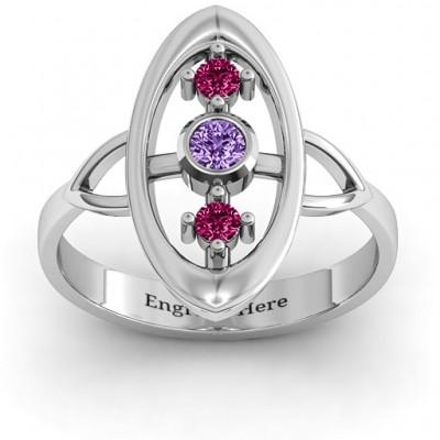 Soulful Window  Ring - Name My Jewelry ™