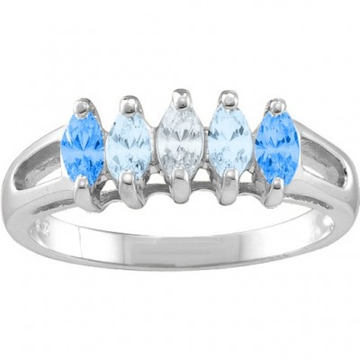 Tempest  2-7 Marquise Ring - Name My Jewelry ™