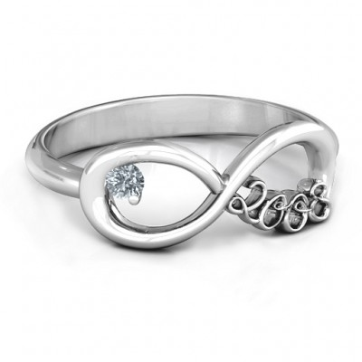 2008 Infinity Ring - Name My Jewelry ™