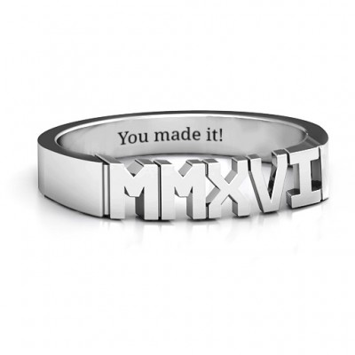 2016 Roman Numeral Graduation Ring - Name My Jewelry ™