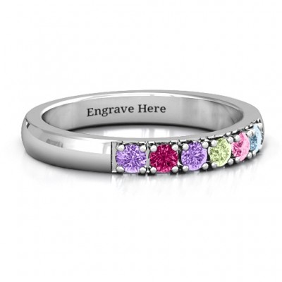 3 - 11 Stone Affinity Ring  - Name My Jewelry ™