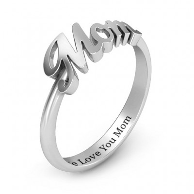 All About Mom Name Ring - Name My Jewelry ™