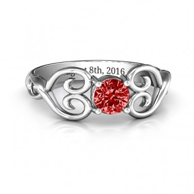 Always In My Heart Promise Ring - Name My Jewelry ™