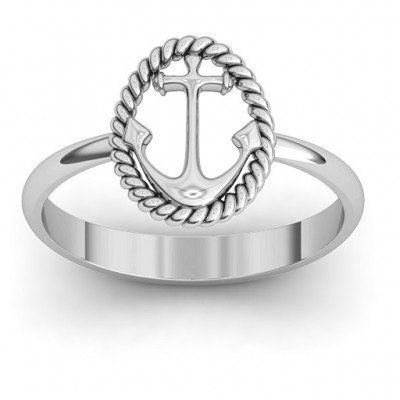 Anchor Ring - Name My Jewelry ™