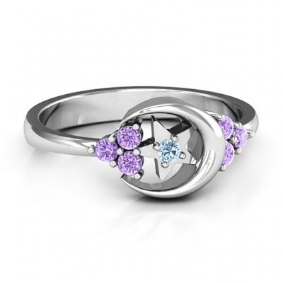 Beautiful Night Ring - Name My Jewelry ™