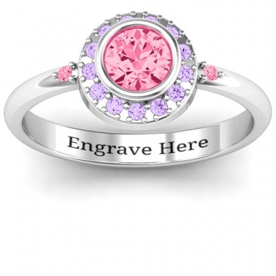 Blooming Round Cluster Ring - Name My Jewelry ™
