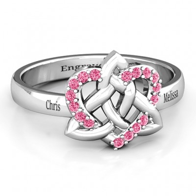 Celtic Heart Ring - Name My Jewelry ™