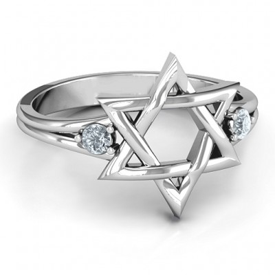Classic Star of David Ring - Name My Jewelry ™