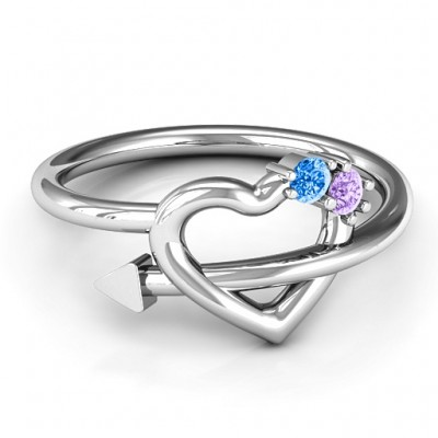 Cupid's Hold Love Ring - Name My Jewelry ™