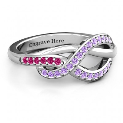 Delicacy Infinity Ring - Name My Jewelry ™