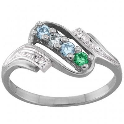 Diamond Accent 2-6 Stones Ring  - Name My Jewelry ™