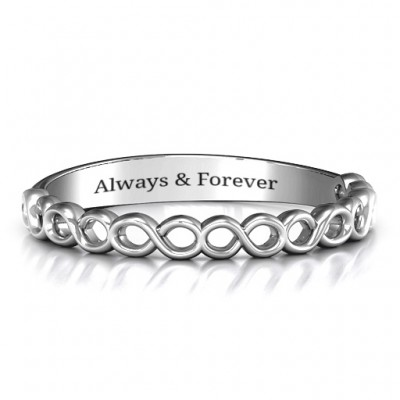 Dreaming Of Infinity Band - Name My Jewelry ™