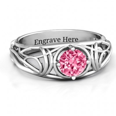Enchanting Tangle of Love Ring - Name My Jewelry ™