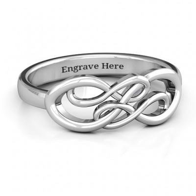 Everlasting Infinity Ring - Name My Jewelry ™