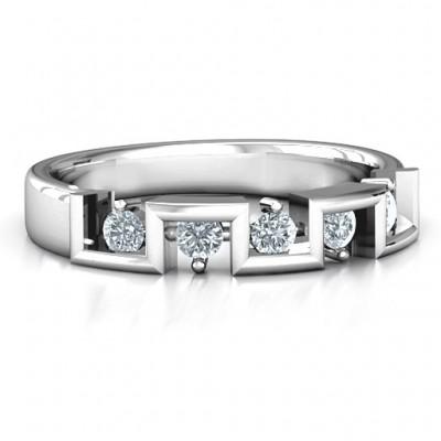 Geometric Fashion Band - Name My Jewelry ™