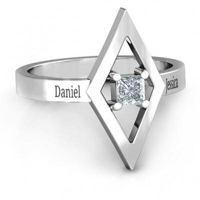 Glam Diamond Ring - Name My Jewelry ™
