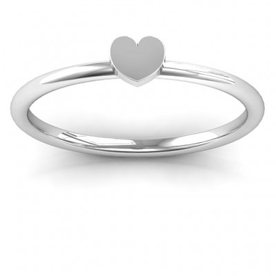 Heart Stackr Ring - Name My Jewelry ™