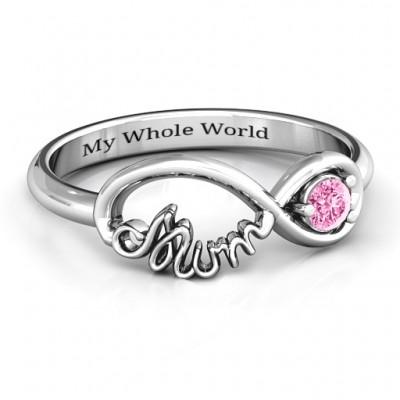 Infinite Bond Mum Ring - Name My Jewelry ™