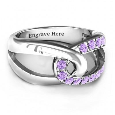 Infinity Embrace Ring - Name My Jewelry ™