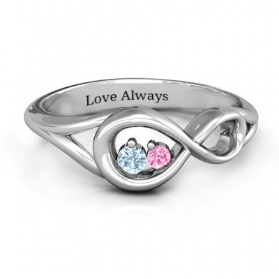 Infinity Love Nest Ring - Name My Jewelry ™