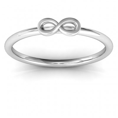 Infinity Stackr Ring - Name My Jewelry ™
