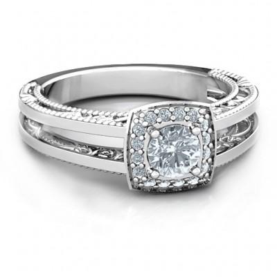 Intricate Love Ring - Name My Jewelry ™