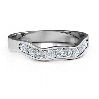 Jasmine Band Ring - Name My Jewelry ™