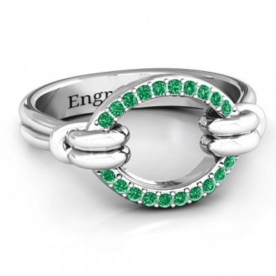 Karma Ring with 20 Stones  - Name My Jewelry ™