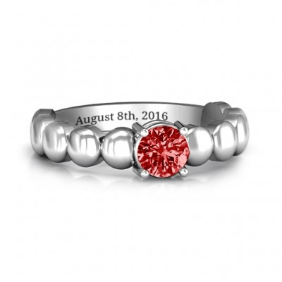 Love Story Promise Ring - Name My Jewelry ™