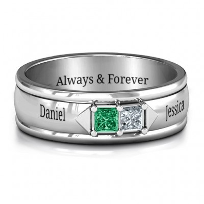 Men's Timeless Romance Ring - Name My Jewelry ™