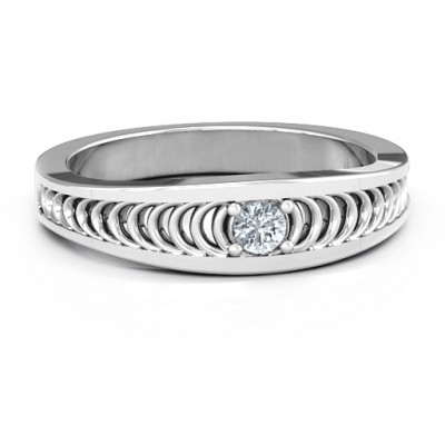 Modern Elegance Band Ring - Name My Jewelry ™