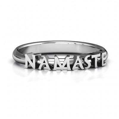 Namaste Ring - Name My Jewelry ™