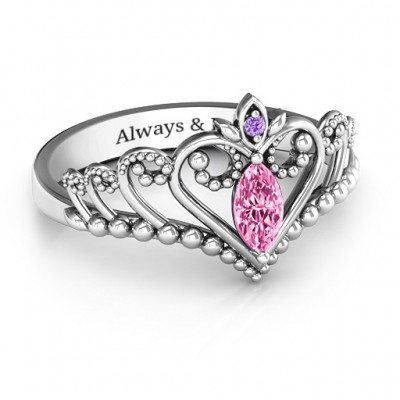 Once Upon A Time Tiara Ring - Name My Jewelry ™