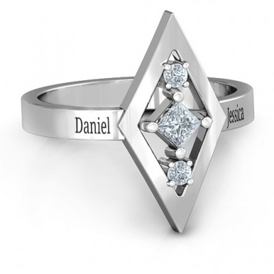 Playing with Diamonds Ring - Name My Jewelry ™